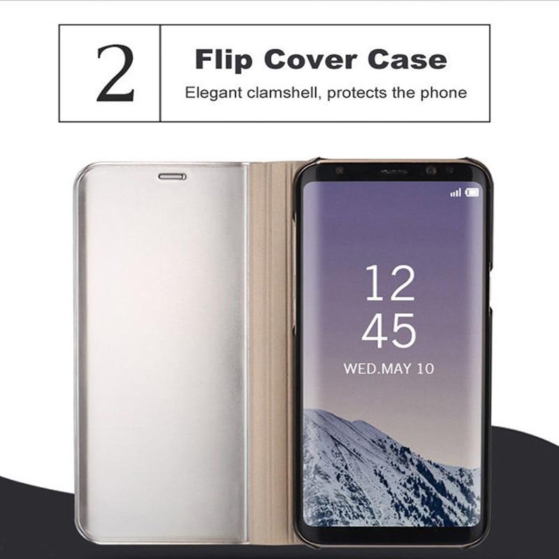 Smart Mirror Flip Case For Samsung Galaxy A71 A51 A70 A50 S8 S9 S10 S20 Plus A21 A31M31 A30S A50S A40 A60 A80 A10 A81 M30S Cover
