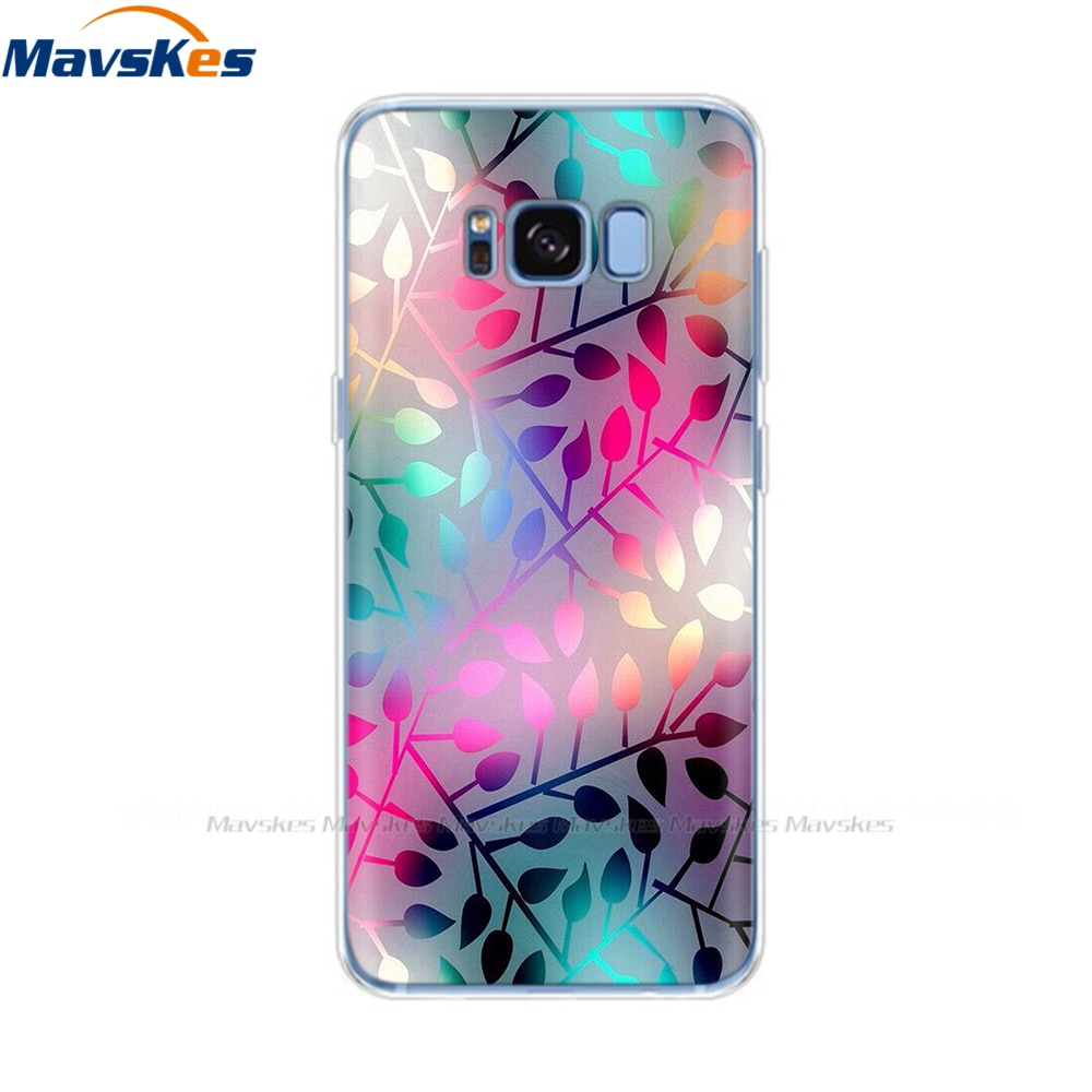 Silicon phone Case For Samsung Galaxy S8 Cases Cover For Samsung S8 plus Phone shell new design full 360 protective Coque Mask